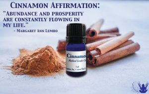 Cinnamon Essential Oil Affirmation Meme Margaret Ann Lembo