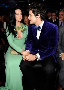 Katy-Perry-John-Mayer-Grammy-Awards-2013 green n cobalt