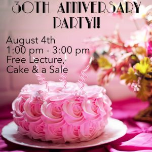 30th Anniversary Celebration for The Crystal Garden @ The Crystal Garden