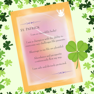 Saint Patrick Card Front